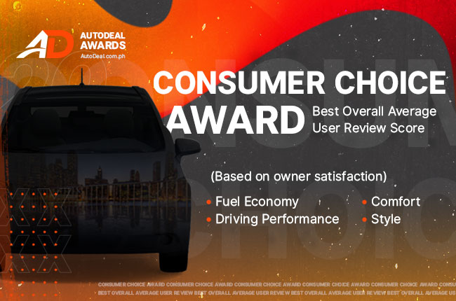 AutoDeal 2020 Consumer Choice Award