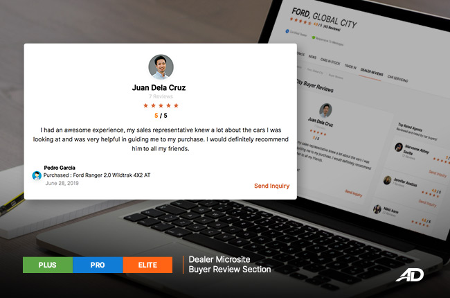 AutoDeal Buyer Reviews