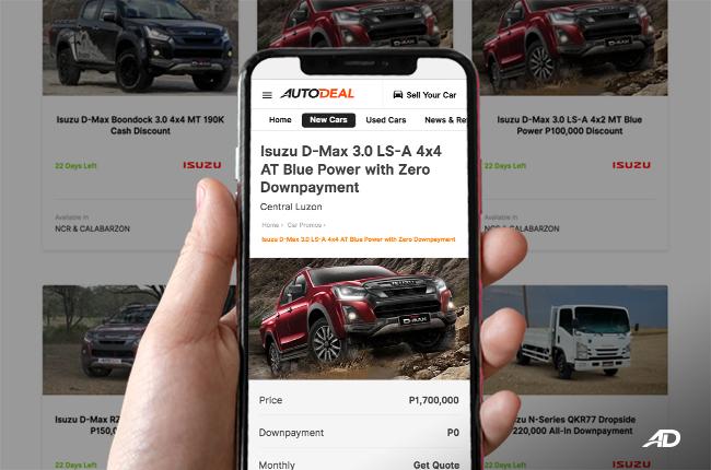 AutoDeal Isuzu Partnership