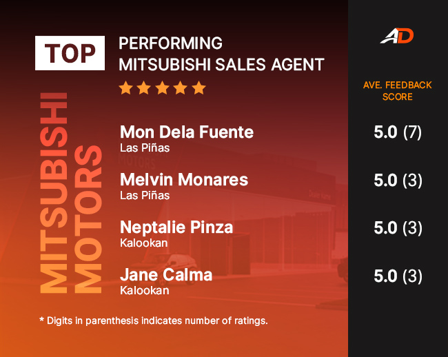 best mitsubishi sales feedback