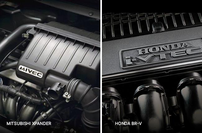 BR-V – Xpander Head to head