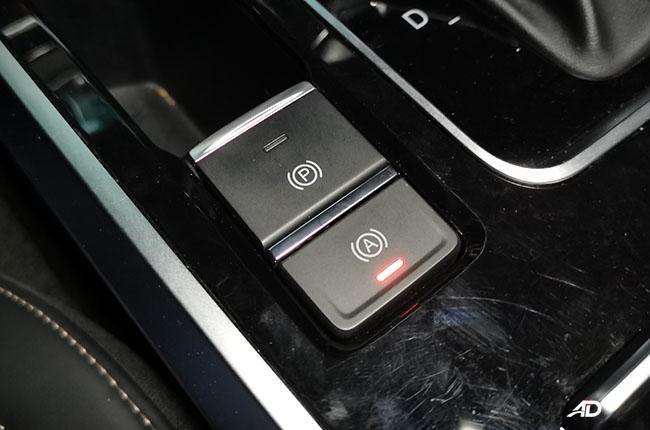 Chery Tiggo 8 auto brake hold function