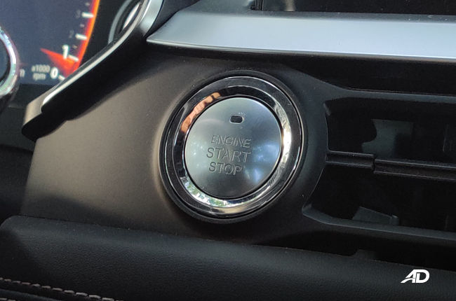 Chery Tiggo 8 Philippines Push Start Button