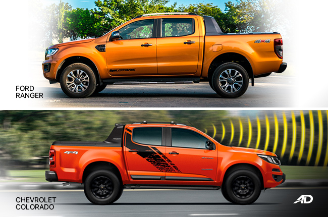 Chevrolet Colorado vs Ford Ranger
