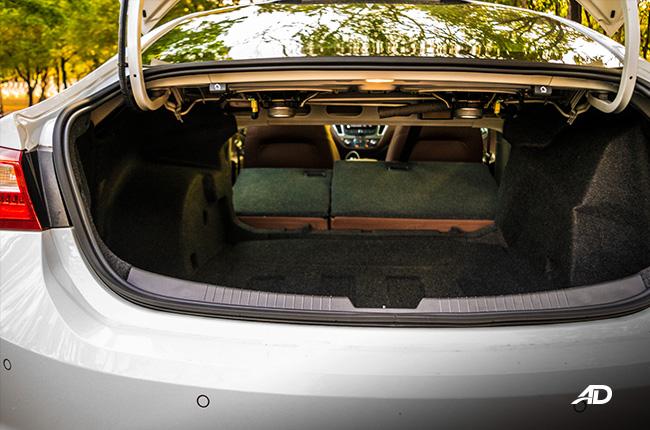 chevrolet malibu trunk