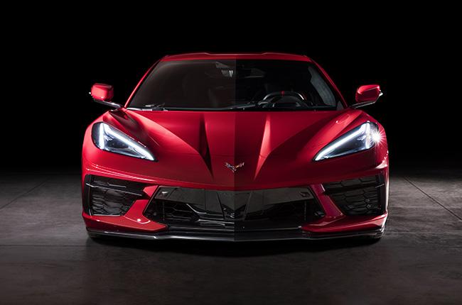 Corvette C8 front