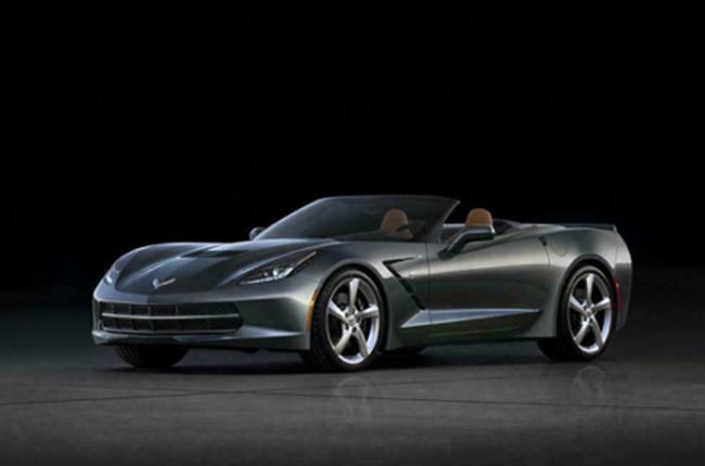 Corvette Convertible First Retail