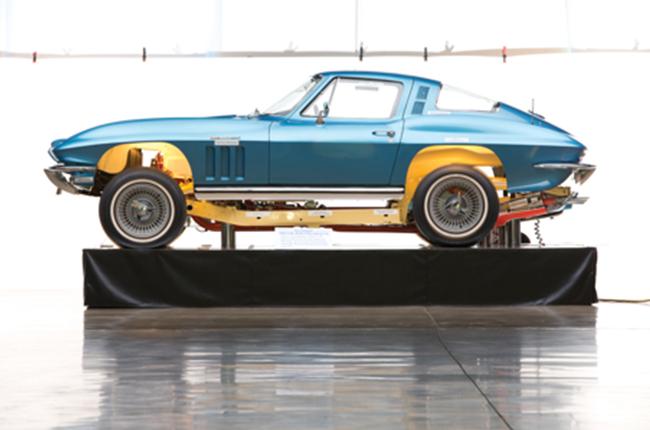 Corvette Cutaway Coupe