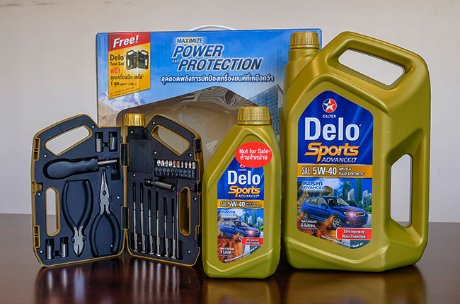 Delo Sports Advanced SAE 5W-40