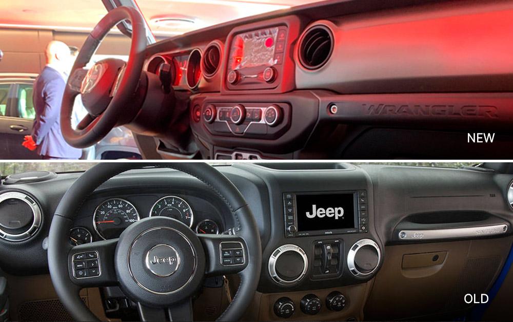 Face-Off: Old vs 2019 Jeep Wrangler