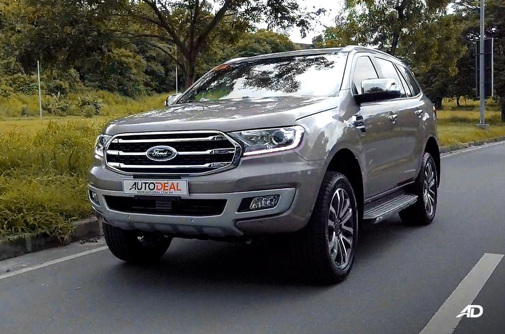 facelifted ford everest philippines