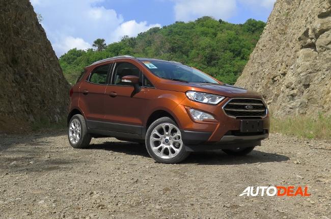 Ford EcoSport Orange Color