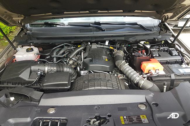 Ford Everest Engine bay