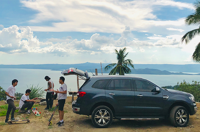 ford everest feature