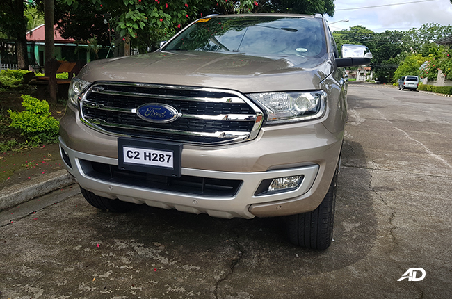 Ford Everest Front 2020