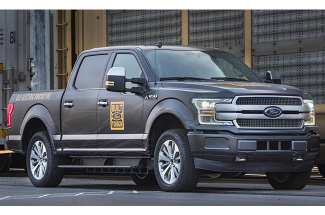 Ford F-150 Electric Prototype