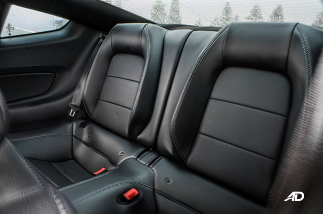 Ford Mustang Interior and Cargo Space