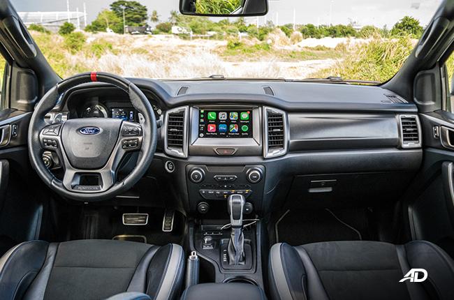 Ford ranger Raptor Dashboard