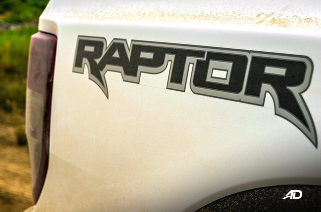 Ford Ranger Raptor Decal