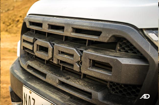 Ford Ranger Raptor Grille