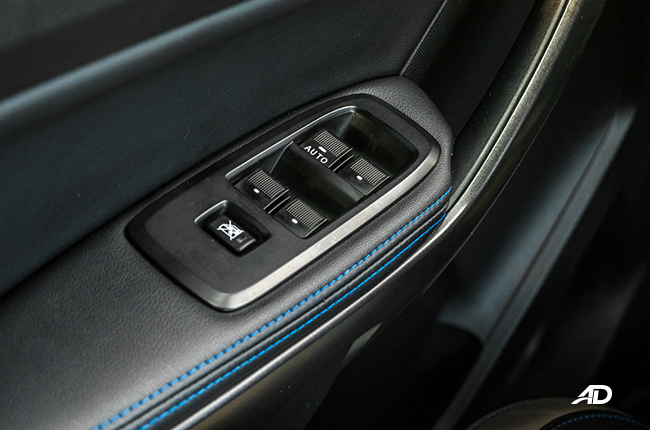 Ford Ranger Raptor interior road test