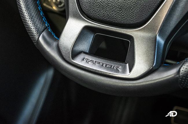 Ford Ranger Raptor Logo Steering Wheel