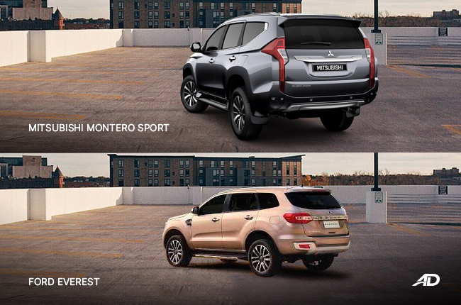 Head-to-Head: Ford Everest vs Mitsubishi Montero Sport