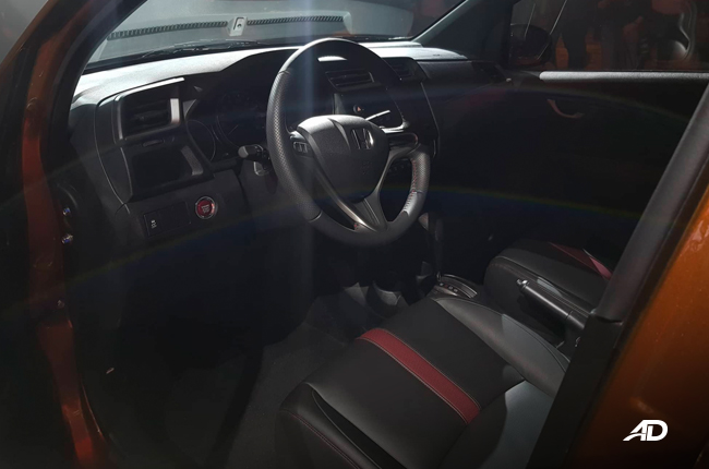 Honda BR-V New Interior
