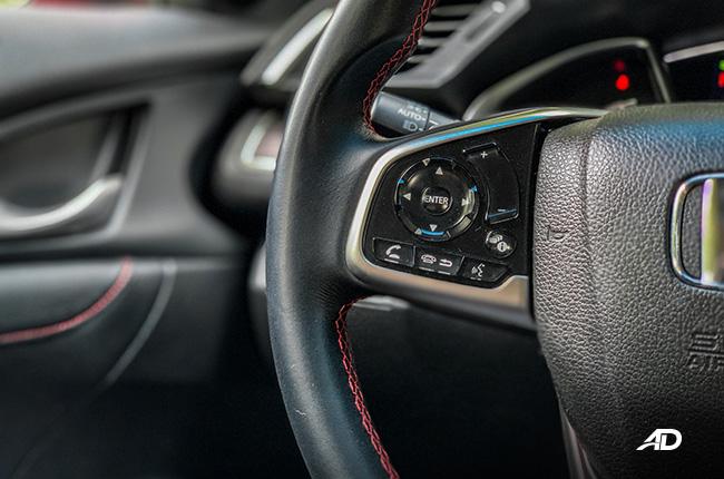 honda civic rs turbo road test interior philippines