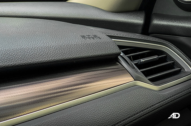 honda civic rs turbo road test interior safety