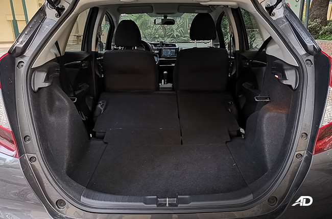 Honda Jazz cargo space