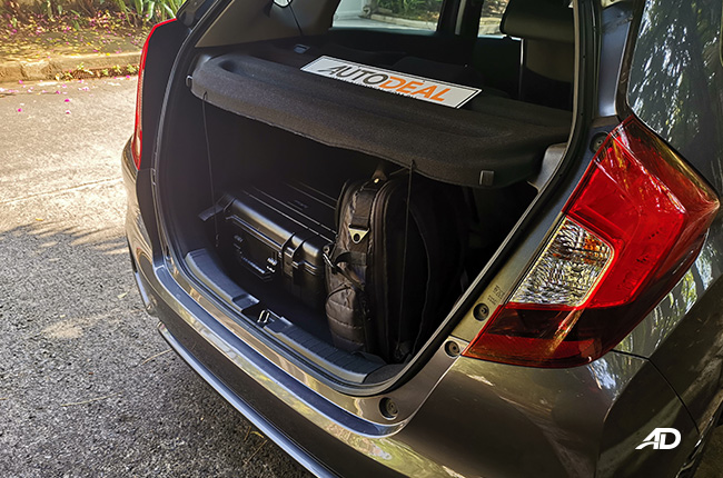 Honda Jazz trunk