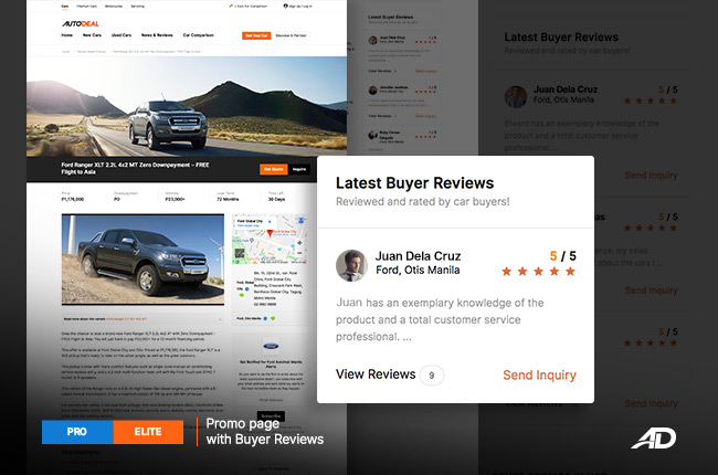 how to publish buyer reviews