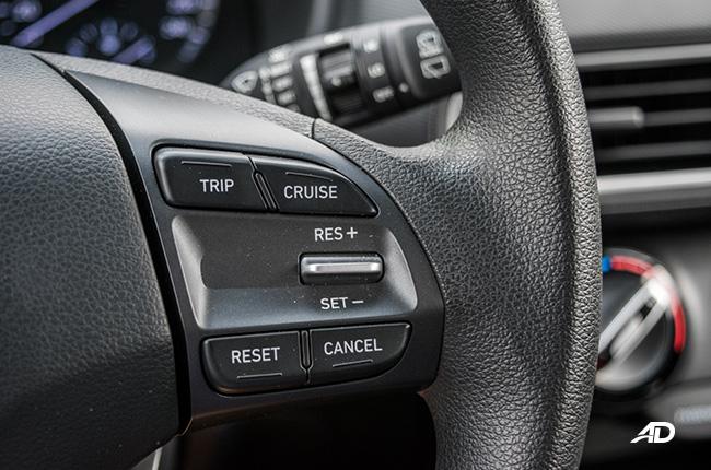 Hyundai Kona cruise control