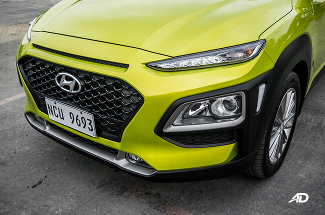Hyundai Kona fascia
