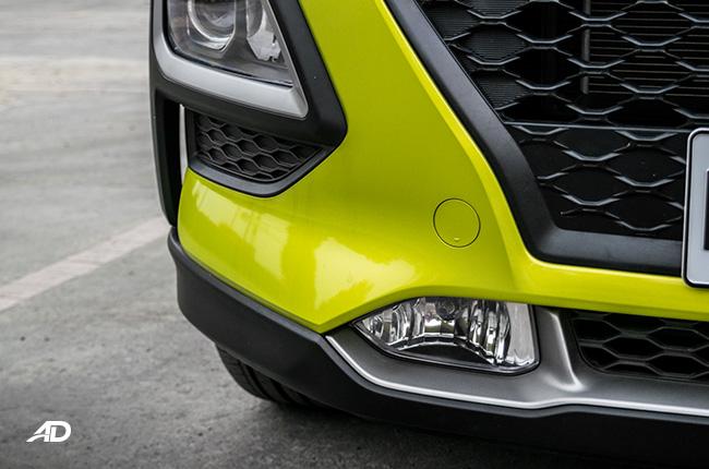 Hyundai Kona fog lights