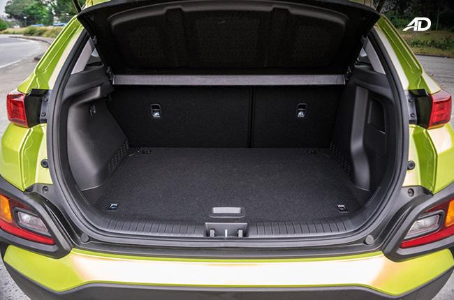 Hyundai Kona trunk