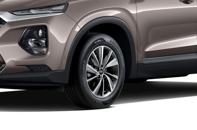 Hyundai Santa Fe 18 inch wheels