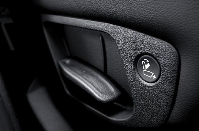 Hyundai santa fe manual seat controls
