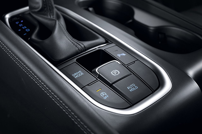 Hyundai Santa Fe top of the line E-Brake