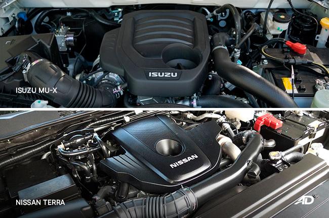 Isuzu mu-X vs. Nissan Terra