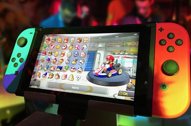Mario Kart in Nintendo Switch