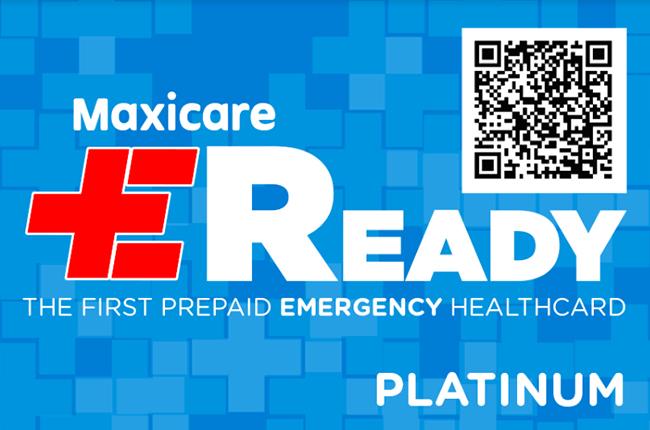 Maxicare EReady Platinum Card