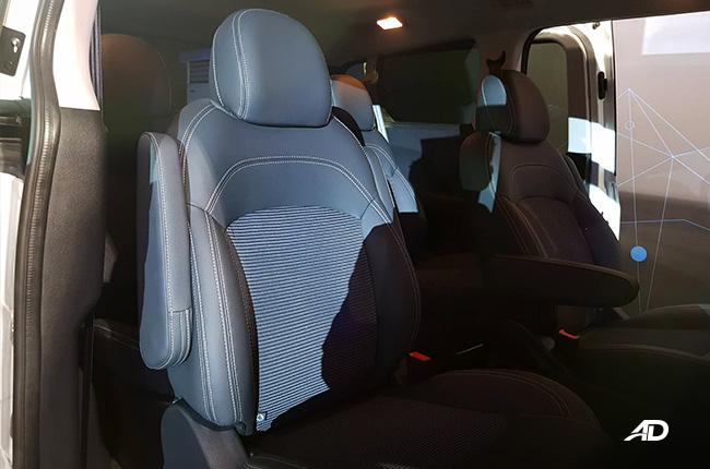maxus g10 interior