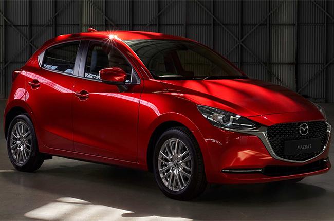 Mazda 2 front quarter