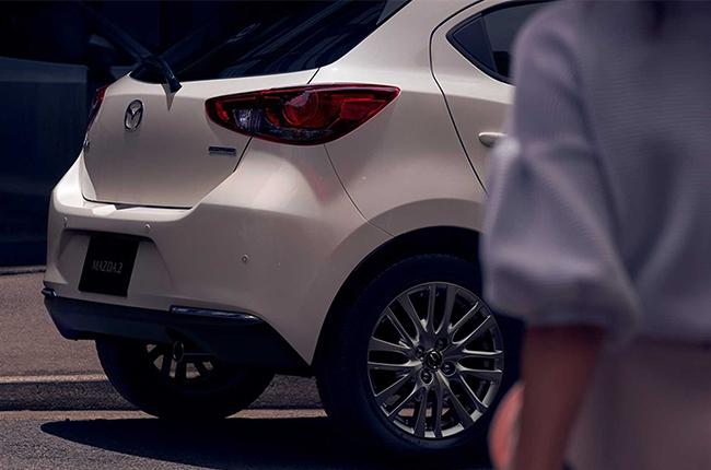 Mazda 2 rear