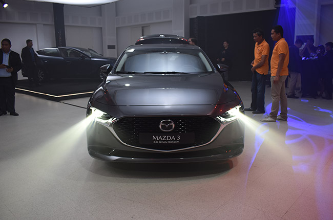 Mazda 3 LED lights