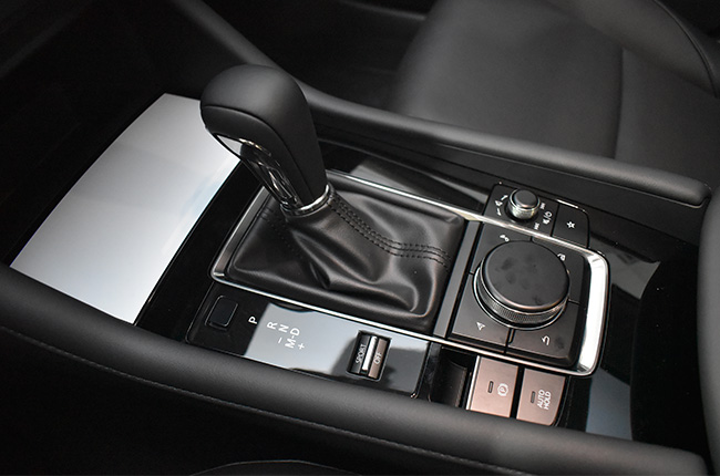 Mazda connect with shifter