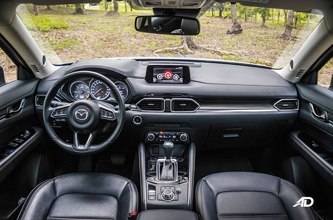 Mazda CX-5 Diesel interior