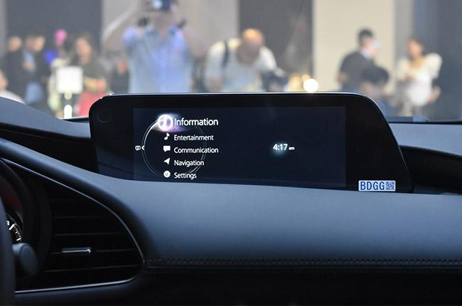 Mazda3 premium Infotainment